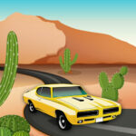 Desert Car Race